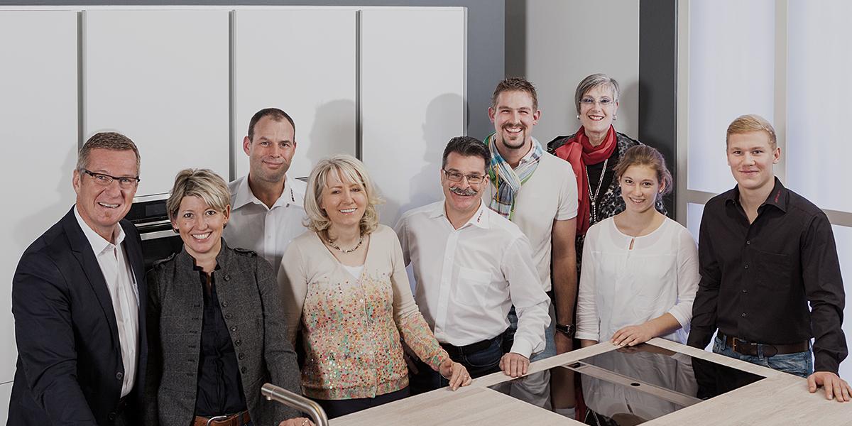 Das Team von Küchen Hunold