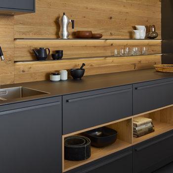 Moderne Küchenrückwand