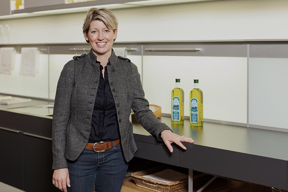 Anke Hunold, Verkauf bei Küchen Hunold