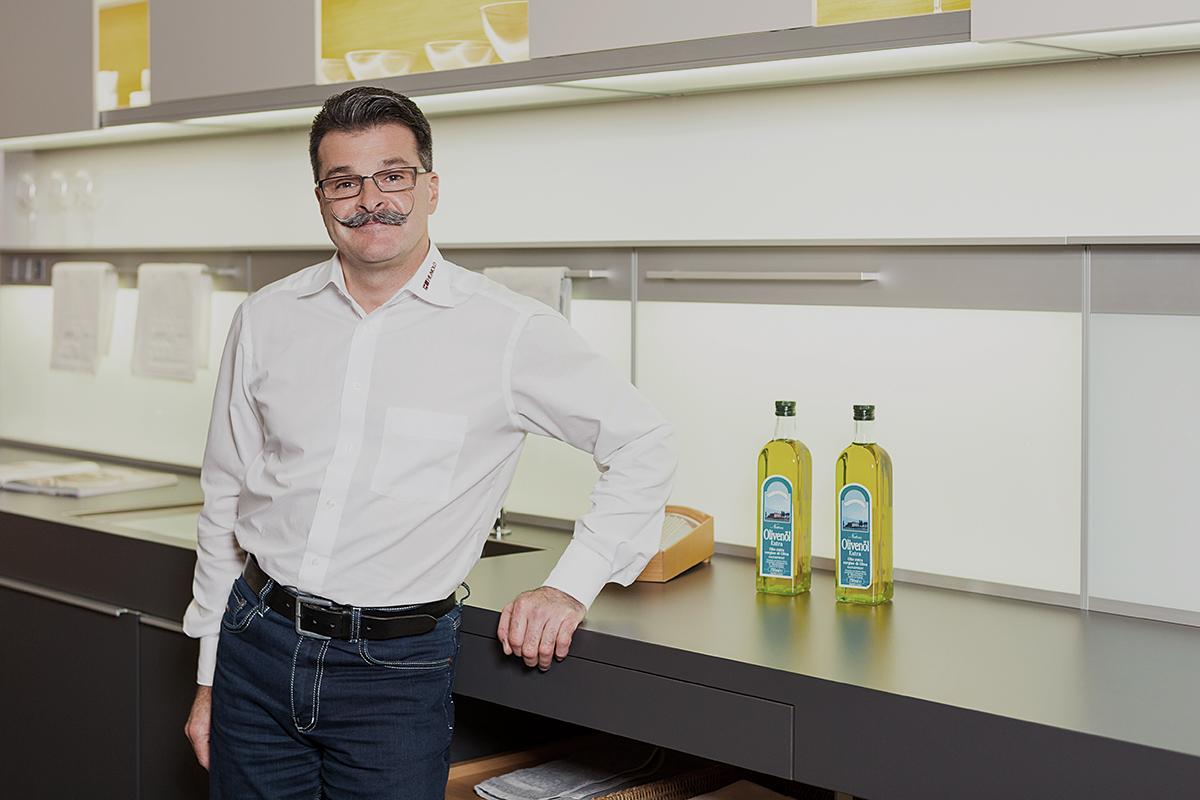 Thorsten Daube, Verkaufsleitung bei Küchen Hunold