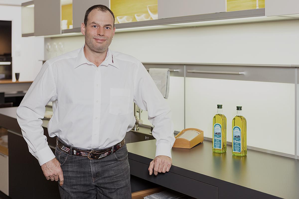 Frank Decker, Montageleitung bei Küchen Hunold